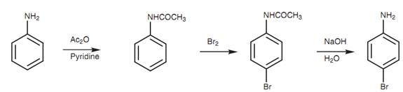 synthesis of p bromoaniline Making o-bromoaniline from aniline up vote 5 down vote favorite 1  synthesis of para-chloroanisole using diazotisation followed by chlorination with aluminium chloride 0 distillation of aniline/water mixture 5 why is the ortho isomer a major product in the nitration of toluene 6.