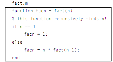 how to write a recursive function