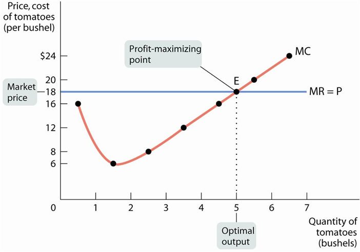 case study on profit maximization of a firm Definition of profit maximization: a process that companies undergo to determine the best output and price levels in order to maximize its return the.