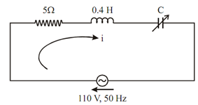 1708_Determine the value of capacitance to give resonance.png