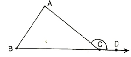 Properties of triangles exterior angle theorem - The exterior angle of a triangle is equal to ...
