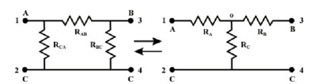 448_Wye (Y) - Delta (Δ) OR Delta (Δ)-Wye (Y) Transformations.png