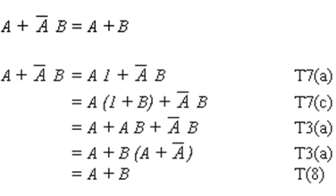 474_Define Algebraic method for Simplification of the Boolean Expressions.png