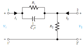 646_Determine the h-parameters for the circuit.png