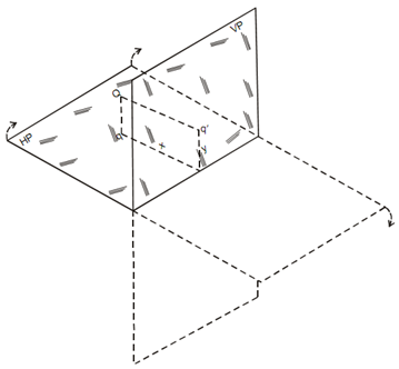 708_Projections of a Point Situated in Second Quadrant.png