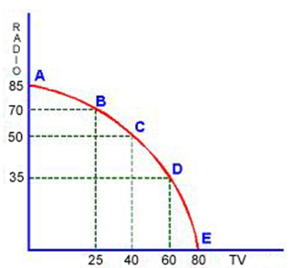 Production Possibility Curve Homework Help